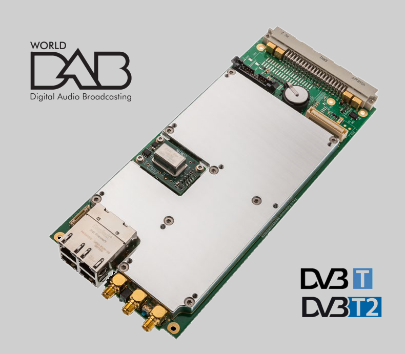 STATE OF THE ART DAB+/DVB-T2/T MODULATOR FROM PROTELEVISION
