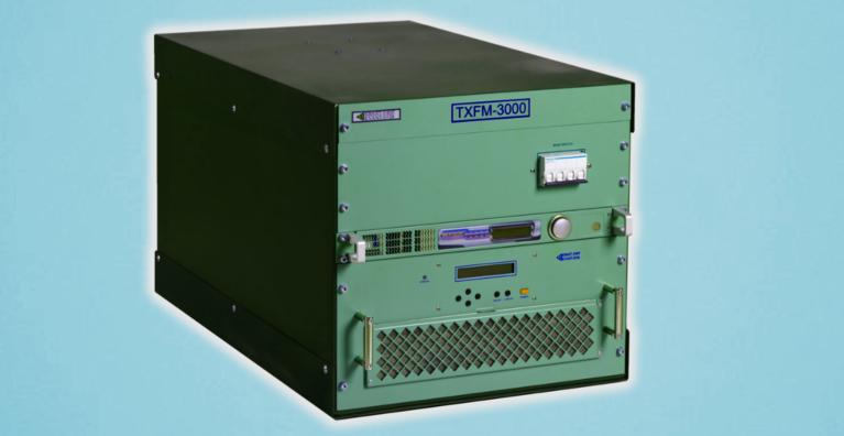 Радиовещательный передатчик TXFM-3000 мощностью до 3 кВт